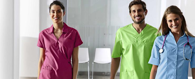 Kleding voor verplegend personeel, artsen, apothekers, kinesisten, ...