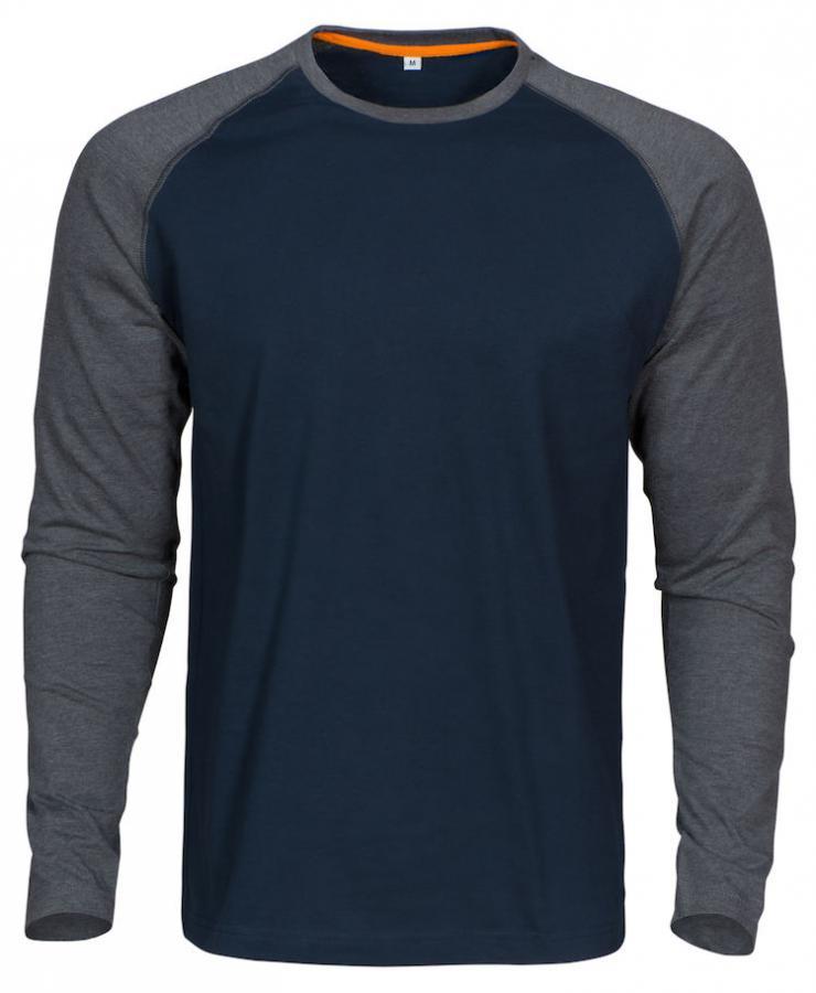 MacOne/ 2 kleurige t-shirt lm